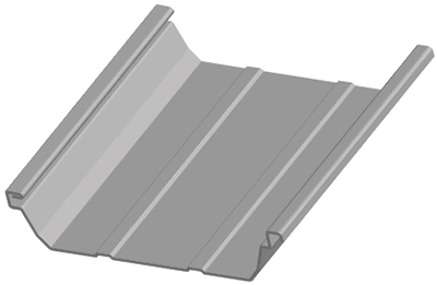 Fabri-Steel West - Double-Lok-panel